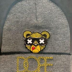 New Gray Dope Stitch Beanie Hat Skull Cap